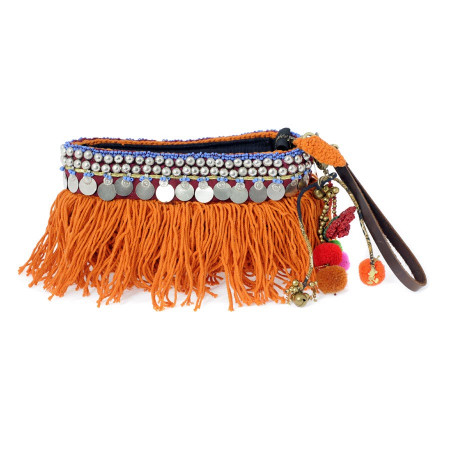 Indie Pouch Orange Bag