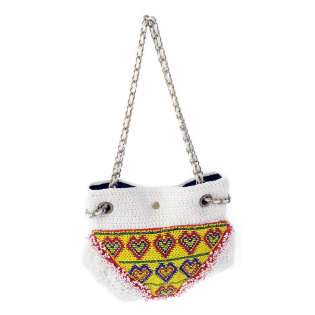 Jo Bag White Tasche