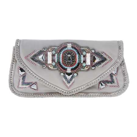 Alvina Clutch Grey Tasche
