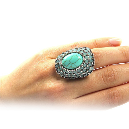 Glam is back Ring
