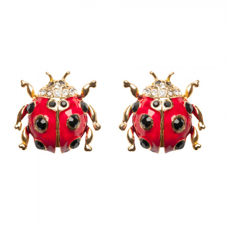 Lady Bug Ohrclip