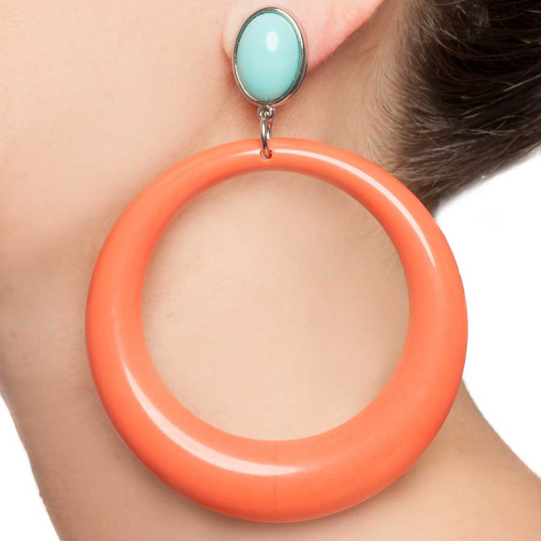 The Coral Hoop Clip