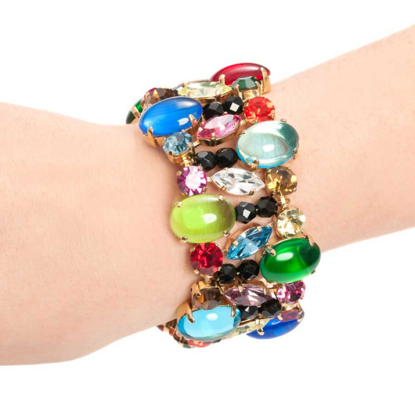 Arm Candy Multicolor Armband
